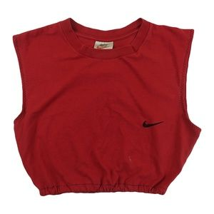 Vintage 90s Nike Crop Top Shirt S M L